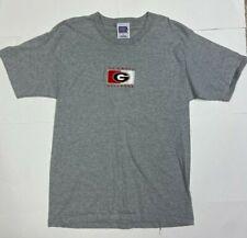 Georgia Bulldogs Embroidered T-shirt, Gray, Mens L