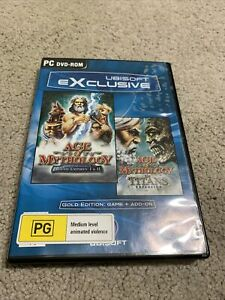 Age of Mythology Gold Edition PC Game & The Titans Expansion Vintage 2003