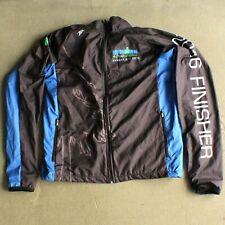 Zoot Ironman Coeur d'Alene Finisher 2016 Black Blue Windbreaker Jacket Unisex S