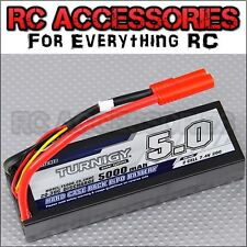 5000mAh LiPo Lithium Polymer Battery Pack 7.4v 2 s Cell 40C 50C Hard Case RC Car
