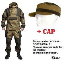 """Gorka 4 """"BARS"""" original russian military special uniform suit khaki camo + cap"""