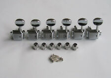 Left Hand Chrome Vintage Guitar Tuning Keys Tuners Machine Heads for Strat Tele