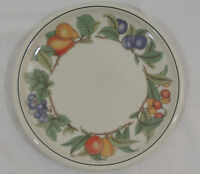 """WHOLESOME by Epoch Stoneware Fruit & Leaves E211 1 Dinner Plate 10 1/4"""""""