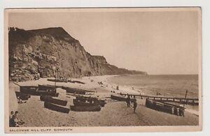 Devon Postkarte - Salcombe Hill Cliff , Sidmouth - P/U 1944 (A3526)