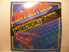 Transformers robot CONVERTORS ORIGINAL Empty Card Blister INSECTORS SCORPIO