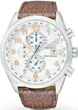 NEW Men's Citizen EcoDrive Limited Edition World Chronograph AT Watch AT8010-23A