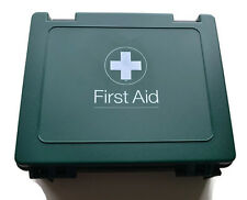 EMPTY Medium First Aid Kit Box Case with Wall Bracket