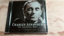charles aznavour-cd-the greatest hits-nuevo-voir photos