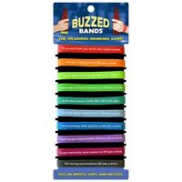 BUZZED BANDS Hilarious DRINKING GAME Adult Party HEN STAG NIGHT Gift Xmas