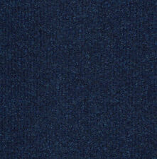 20 Fine Rib Orion Blue Heavy Duty CARPET TILES For Commercial Use