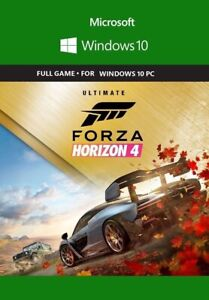 Forza Horizon 4 ULTIMATE EDITION + FH3UE {Windows10PC} FULL GAME {ACCOUNT}