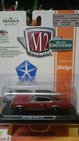 M2 Máquinas Conductores de Auto 1966 Dodge Cargador 383 (N12)