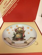 Hummel Collector Christmas Plate, 1988, Bnib, L/E, Signed, Numbered, Angel