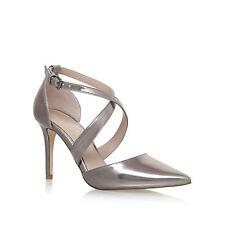 BRAND NEW IN BOX - KURT GEIGER CARVELA KROSS DARK SILVER HEELS size 7