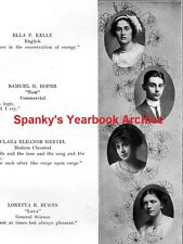 1913 Wisconsin High School Yearbook~Photos~History~Football~Graphics~Teenagers++