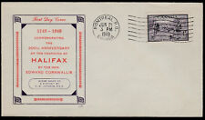 FIRST DAY COVER - 1949 - UNITRADE #283 - HALIFAX BICENTENARY - NICE CACHET