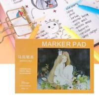 1Pcs 30 Sheets Watercolor Paper Sketch Book For Watercolor Drawing Sketchbook