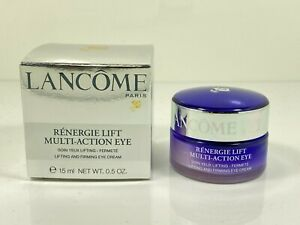 Lancome Renergie Lift Multi-Action Eye Lifting & Firming Cream 0.5 oz New in Box