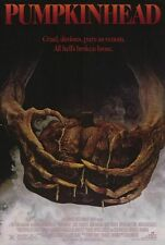 PUMPKINHEAD Lance Henriksen Horror Single Sided 27x41 Movie Poster 1988