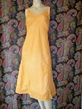 Vintage Garcrest Sunshine Cotton Eyelet Princess Slip Nighty Lingerie 36