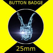 DONNIE DARKO - BUNNY HEAD -  - CULT FILM - BUTTON BADGE 25mm
