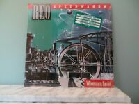 REO Speedwagon - Wheels Are Turnin' 1984 Epic QE 39593 Vinyl LP EX/EX!!!