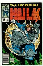 INCREDIBLE HULK #344 (VF+) Leader Appearance! Todd McFarlane! Newsstand 1988