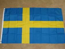 NEW 3X5 SWEDEN FLAG SWEDISH FLAGS EU EUROPEAN F216