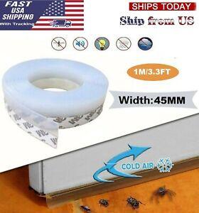 1M Weather Foam Tape Draught Excluder Seal Strip Insulation Window Door stop US