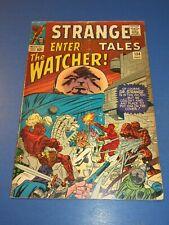 Strange Tales #134 Silver age Dr. Strange Watcher Key VGF Wow