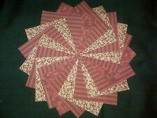 30 Red~Medium 4x4 Quilt Squares Fabric~4064a