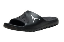 Jordan Super Fly Team Slides Sandals Waterproof Black White 716985-011 Mens 12
