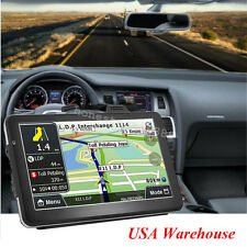 "7"" Truck Car Vehicle Portable GPS Navigation Navigator SAT NAV 4GB US Canada Map"