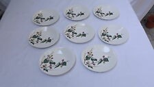 Eva Zeisel for Hallcraft MULBERRY Pattern China - Bread Butter Plates - 8 Avail