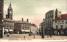 Louth. Market Place published by Chas. Parker, Market Place, Louth.