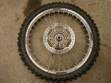 2006 YAMAHA YZ250F YZ 250 FRONT TIRE AND RIM