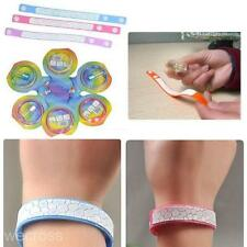 Anti Mosquito Pest Insect Bugs Repellent Repeller Wrist Band Bracelet&Oil Set
