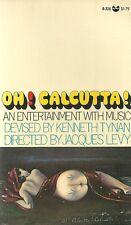 Oh! Calcutta! Kenneth Tynan Music 1978 Vintage Paperback VG+