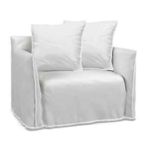 Gervasoni Ghost 09 Husse Sesselüberwurf Sesselbezug Sesselhülle Schonbezug Weiß
