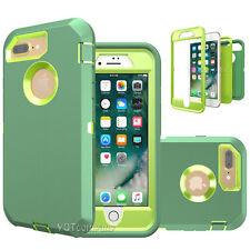 Hybrid Shockproof Hard Case Heavy Duty Defender Cover Fr Apple iPhone 7 / 7 Plus