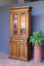 Victorian Oak  bookcase.