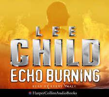 Echo Burning by Lee Child (CD-Audio, 2002) Used