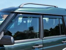 LAND ROVER DISCOVERY 2 1999-2004 FRONT & REAR WIND DEFLECTOR SET 4 PIECES DA6071