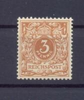 DR 45 c Krone-Adler 3 Pfg. postfrisch geprüft Jäschke-Lantelme (ts243)