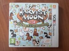 HARVEST MOON 3D: A NEW BEGINNING - Nintendo 3DS - EXCELLENT CONDITION!