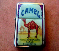 CAMEL PACK EMBLEM STAR FLIP CIGARETTE LIGHTER TURKISH AMERICAN ORIGINAL BLEND
