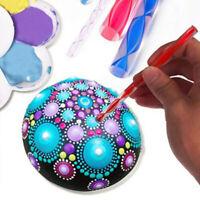 Mandala Dotting Tools Mandala Painting Stencil , 8 Pcs Dotting Tools Acrylic DIY