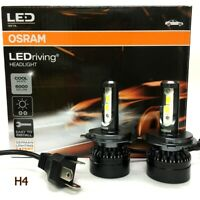 Genuine OSRAM H4 LED 6000K COOL White 12V 25W Headlight Bulb x 2 #Augtc2