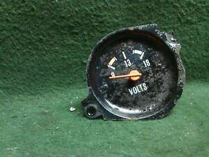 1976 - 1979 Chevrolet GMC 1/2 ton pickup voltage amp gauge    Used OEM