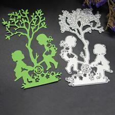 Metal Kid Seesaw Cutting Dies Stencil Scrapbook DIY Album Paper Card Craft